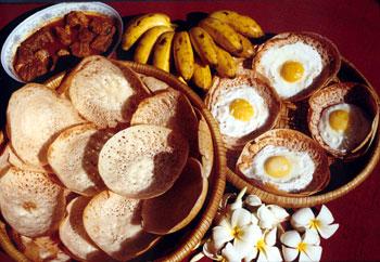 Hoppers in breakfast