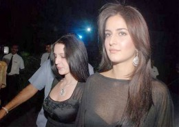 Katrina with her sister Isabel