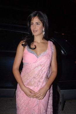 Katrina in saree