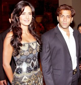 Katrina with Salman