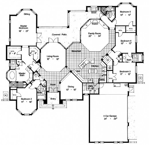 Find your dream home floor plans online for House blueprint images