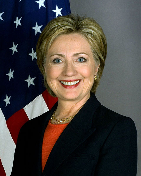Hillary Clinton, 67th United States Secretary of State. (Public Domain)
