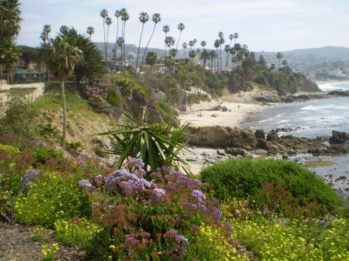 View from Heisler Park, Laguna Beach.