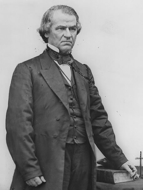Andrew Johnson--Inherited the Mexican problem, but played virtually no part in it
