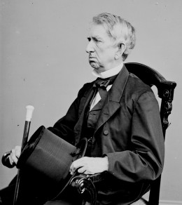 Willam H. Seward--Lincoln's and Johnson's Secretary of State and Grand Master of foreign policy during Reconstruction