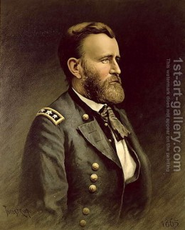 Gen. U.S. Grant--Took early leadership role in crisis