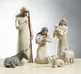willow tree nativity set by Susan Lordi