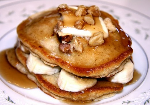 pancakes banana nut pancakes a beautiful mess banana nut pancakes ...