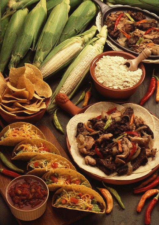 Mexican food the history and preparation for Cuisine history