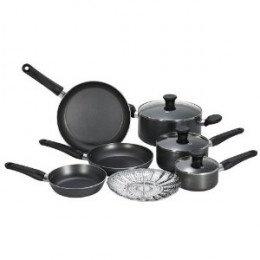 T-Fal Initiatives 10-Piece Nonstick Inside and Out
