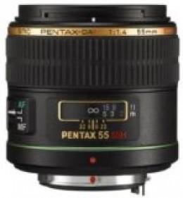 DA 55mm f/1.4 SDM top