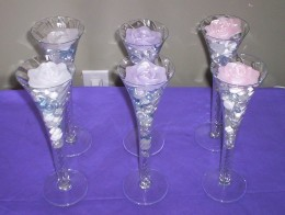 Floating Candles as Wedding Decorations