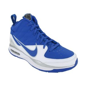Royal blue basketball shoes