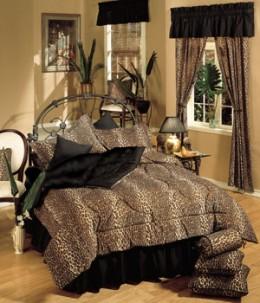 Leopard Print Bedding Leopard Print Curtains Leopard Print Bath Towels...
