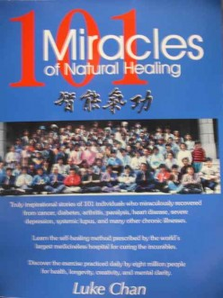 Book review of 101 Miracles of Natural Healing by Luke Chan