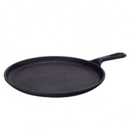 Lodge Logic Pre-Seasoned 10-1/2-Inch Round Griddle