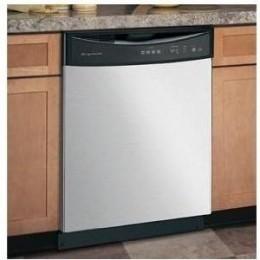 Frigidaire : FDB1100RHC 24: Full Console Dishwasher, Energy Saver Dry Option - Stainless Steel