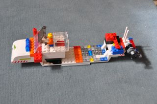 The full-featured boat.