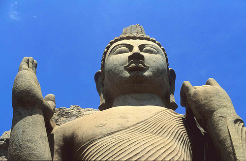 Aukana Buddha Statue Sri Lanka
