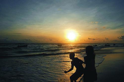 Sri Lanka Sun Set Beach