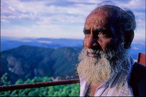Sri Lankan Old Man Potriate