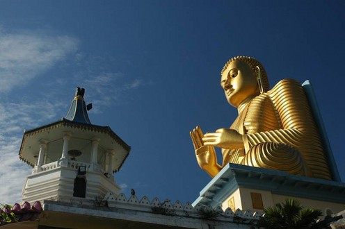 Statue of Lord Buddha Sri Lanka