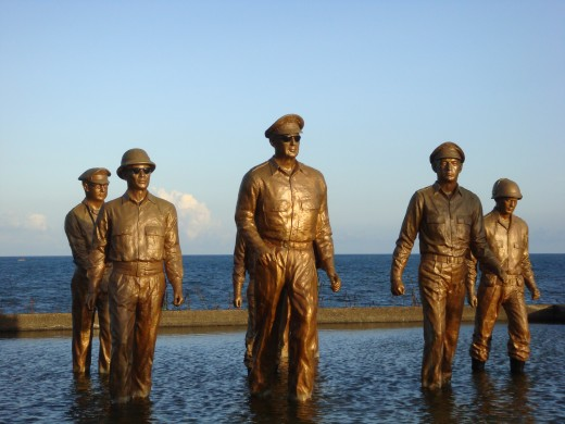 This is now a popular tourist spot in Tacloban, Leyte