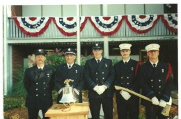 My wonderful husband second from the left