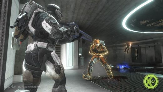 Jetpacks and fighting in Halo Reach