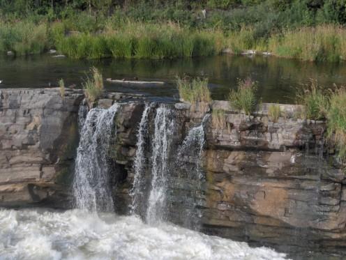 a part of Hogs Back Falls, Ottawa