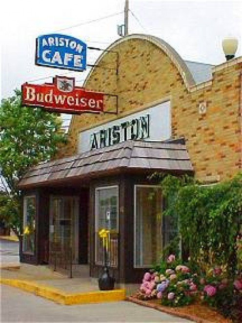 Ariston Cafe.