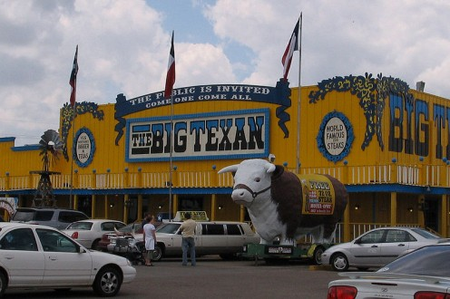 The Big Texan.