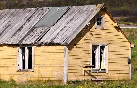 Old House Where I broke my legs.