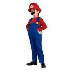 Kids Super Mario Brothers Halloween Costumes: Mario, Luigi, Yoshi, Peach, and Toad Costumes For Children