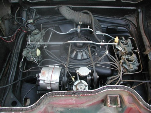 140 hp Chevy Corvair engine