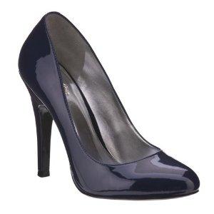 Navy Blue High Heels