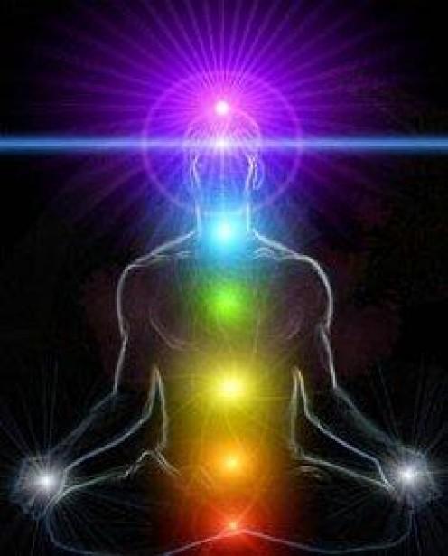 Human Chakra Energy System