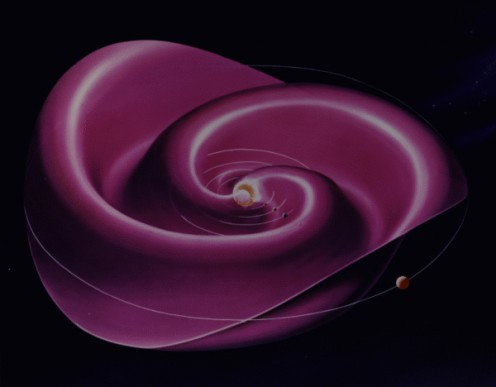 The Magnetic Field of the Sun... Looks Like a Rose