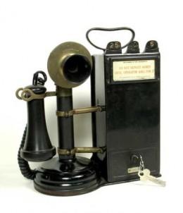 The humble telephone