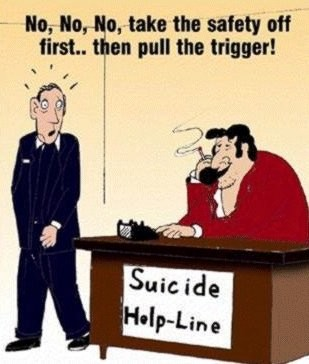 If they gave you the help you needed, it would be useful...