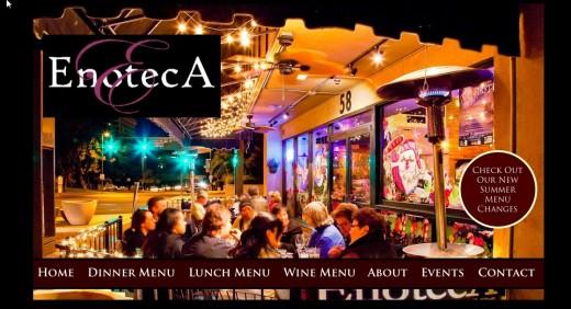 Enoteca Website