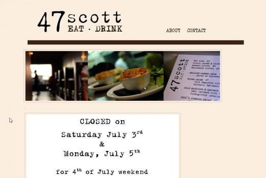 47 Scott Website