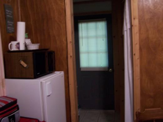 even a microwave and mini fridge
