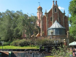 Haunted Mansion at Disneyland.