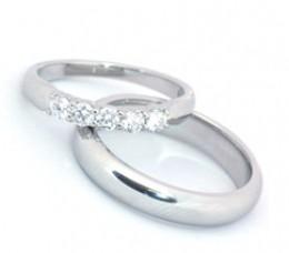 platinum diamond ring set: Wedding Rings Pictures.
