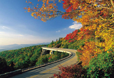 Fall Foliage View from the Blue Ridge Parkway