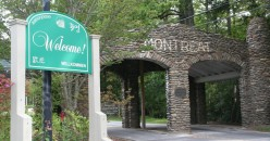Visiting in Montreat, North Carolina
