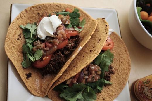 Braised Mexican Beef Recipe - Filling for Burritos, Tacos, Enchiladas ...