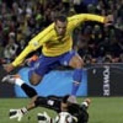 FIFA World Cup Football 2010 Brazil V/s Chili