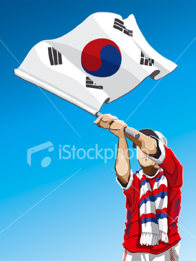 South Korea represents the capitalist sphere in this border dispute in a nation once united.